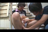 親しい近所の日焼け娘とイタズラ素股SEX♥Vol.02